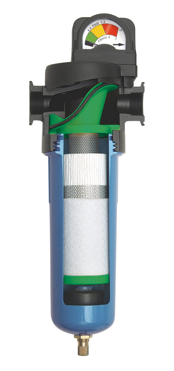 Microfilter for compressed air