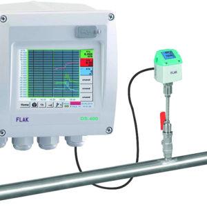 Flow måler station